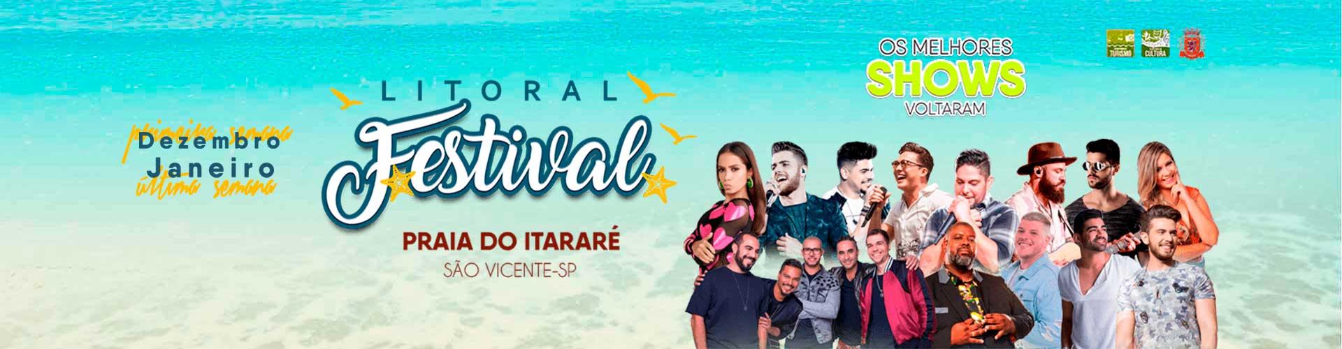 Litoral Festival - 01/12/2018