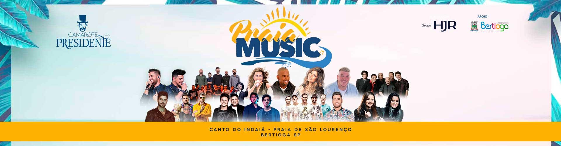 Praia Music Bertioga - 27/12/2018