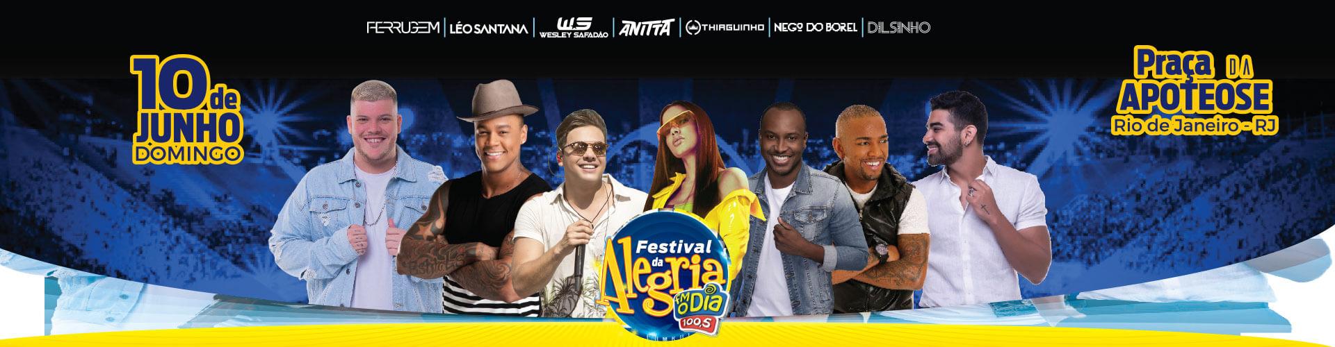 Festival da Alegria FM O Dia - 10/06/2018