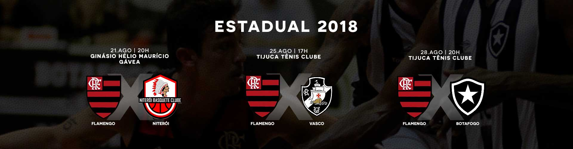 Flamengo x Niteroi - 21/08/2018