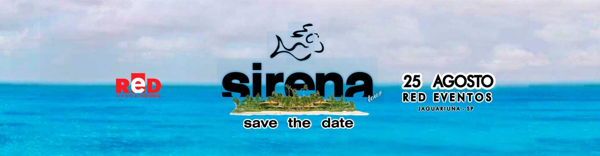 Sirena Tour Niteroi - 21/07/2018